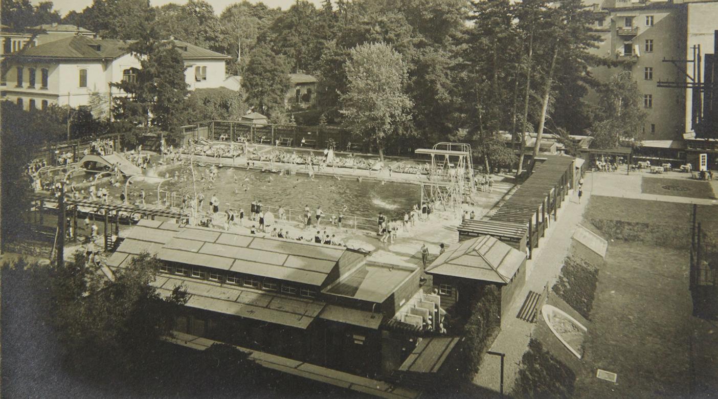 Das Margaretenbad 1929 © Sammlung GrazMuseum
