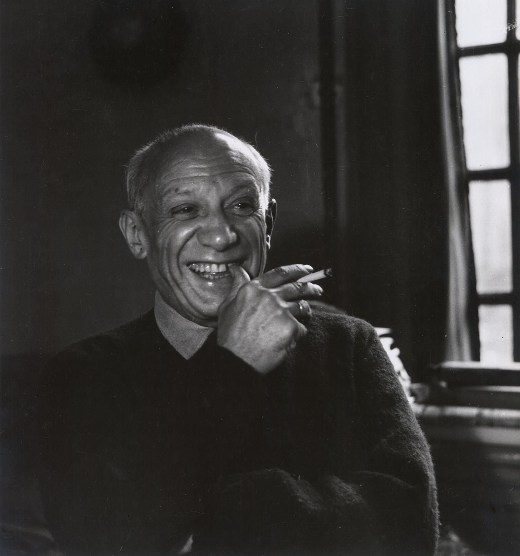 Pablo Picasso, 1955 © Sammlung Julius Hummel, Wien